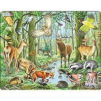 Larsen FH17 Une forêt européenne prospère, Puzzle Cadre avec de 40 pièces