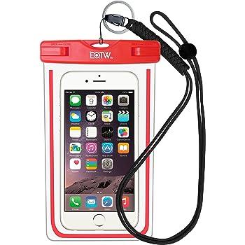 EOTW IPX8 Wasserdichte Tasche, Wasser- und staubdichte Hülle für Geld, Datenträger und Smartphones bis 15,24 cm (6 Zoll), Ideal für den Strand, Wassersport, fürs Radfahren, Angeln, usw. Rose …
