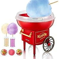 AICOOK Machine à Barbe à Papa, 500W Cotton Candy Maker Appareil pour Maison, Fêtes, Festivals ,Fete Foraine et…