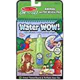 Melissa & Doug On the Go Water Wow! Animal (Reusable Water-Reveal Activity Pad, Chunky-Size Water Pen)