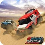 Offroad 8 Wheeler Russischer LKW Rennsport 3D Monster Truck Parken Fahren Stunts Spiele für Kinder