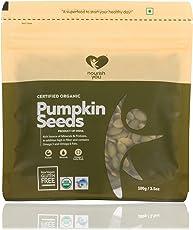NourishYou Organic Pumpkin Seeds, 100gm (Single pack)