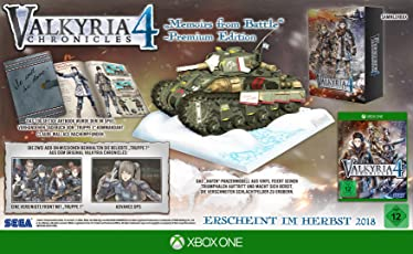 Valkyria Chronicles 4 - Memoires from Battle - Premium Edition (XONE)