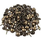 HALJIA 100 Stks Vintage Bekleding Nail Decoratieve Tack Antieke Brons Stud voor Sieraden Gift Box Sofa Decoratie 8 * 10mm