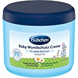 Buebchen Sårskyddskräm för Bebisar med Känslig Hud, Solrosolja och Kamomill, 500 ml