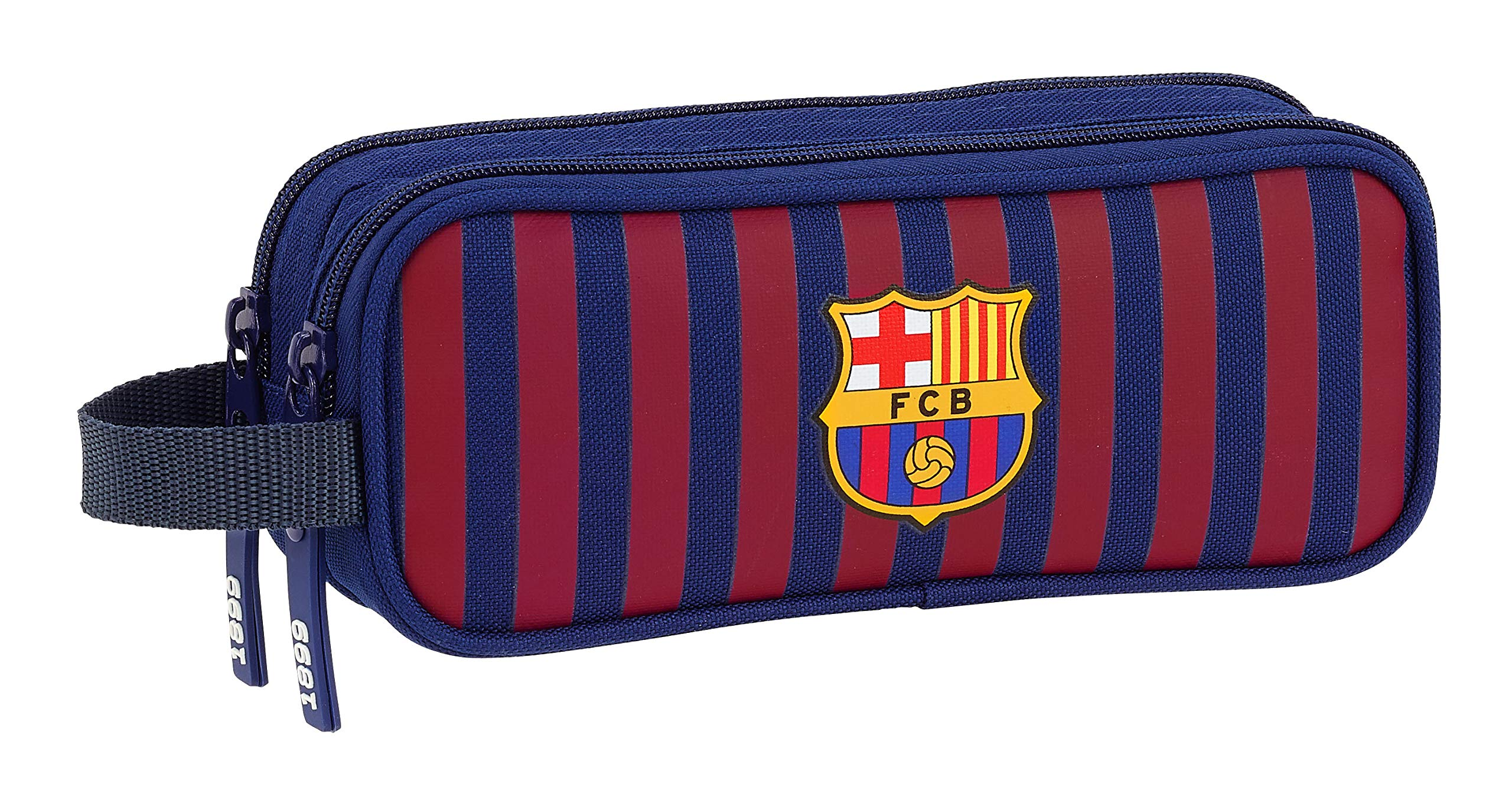 FC Barcelona 811829513 2018 Estuches, 21 cm, Azul
