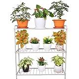 D&V ENGINEERING - Creative in innovation Metal 3-Tier Indoor Outdoor Multipurpose Plant Stand Rack, Flower Pot Display Shelf,