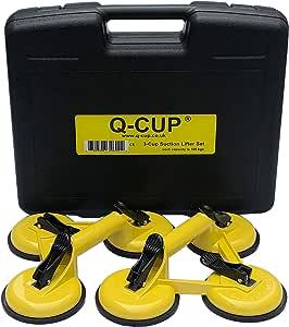 Aide au levage Pour ventouse structur/ée Ventouse en verre 3 ventouses jusqu/à 100 kg