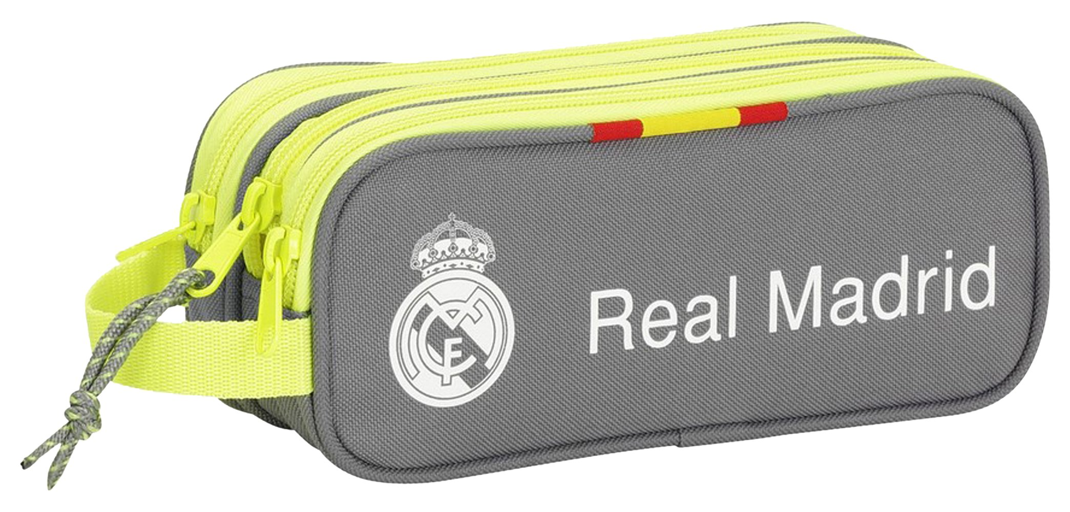 Real Madrid – Portatodo Triple, 21 x 9 x 7 cm (SAFTA 811554635)