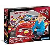 Clementoni- Cars 3 Tappeto Gigante Interattivo, Multicolore, 11987