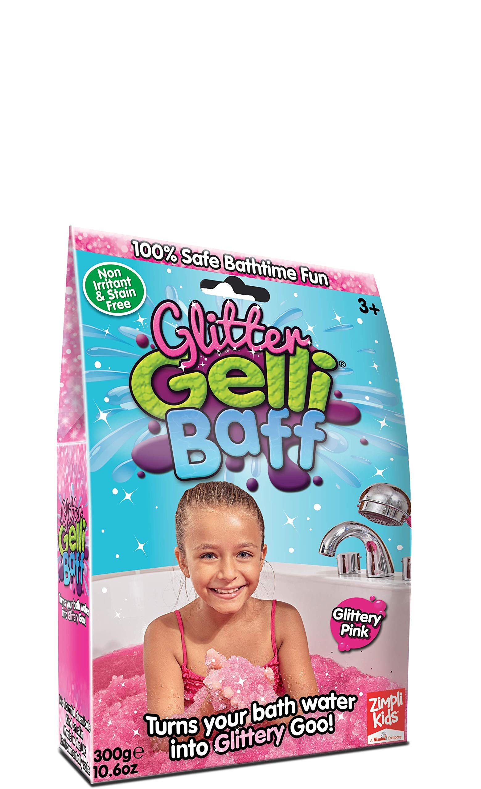 Princess Pink Glitter Gelli Baff-300g