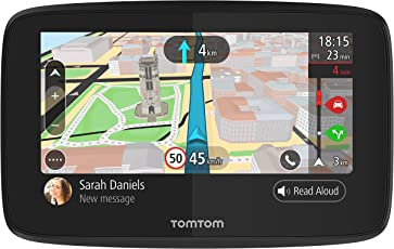 TomTom Go 520 Navigationsgerät (12,7 cm (5 Zoll) Updates über Wi-Fi, (Welt), Smartphone Benachrichtigungen, TomTom Traffic via Smartphone)