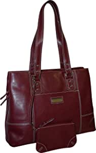 Franklin Covey Women's Business Laptop Tote Bag Red