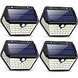 Luce Solare Led Esterno,【2019 Ultimi Modelli 60LED-800 lumen】iPosible Lampada Solare Esterno con Sensore di Movimento 2000 mA