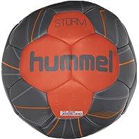 Hummel Handball für Profi Sport & Training - Größe 2 oder 3 - STORM HB - Harz Trainingsball Blau & Rot - Ball mit Air…