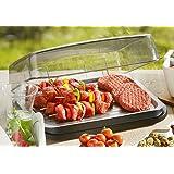 Tomorrow's Kitchen 3548360 Plateau réfrigérant en Acier Inoxydable Noir 40 x 32,6 x 15 cm