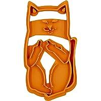 Tagliabiscotti a forma di gatto con dito medio