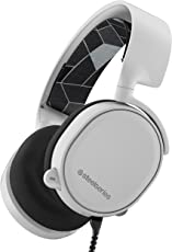 SteelSeries Arctis 5 RGB Illuminated Gaming Headset with DTS Headphone:X 7.1 Surround for PC, Playstation 4, Xbox One, VR, Android and iOS - White