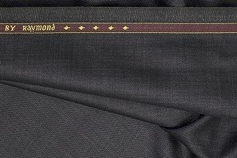 Raymond Men's Solid 1Pc Suit (Grey, 3Meter)