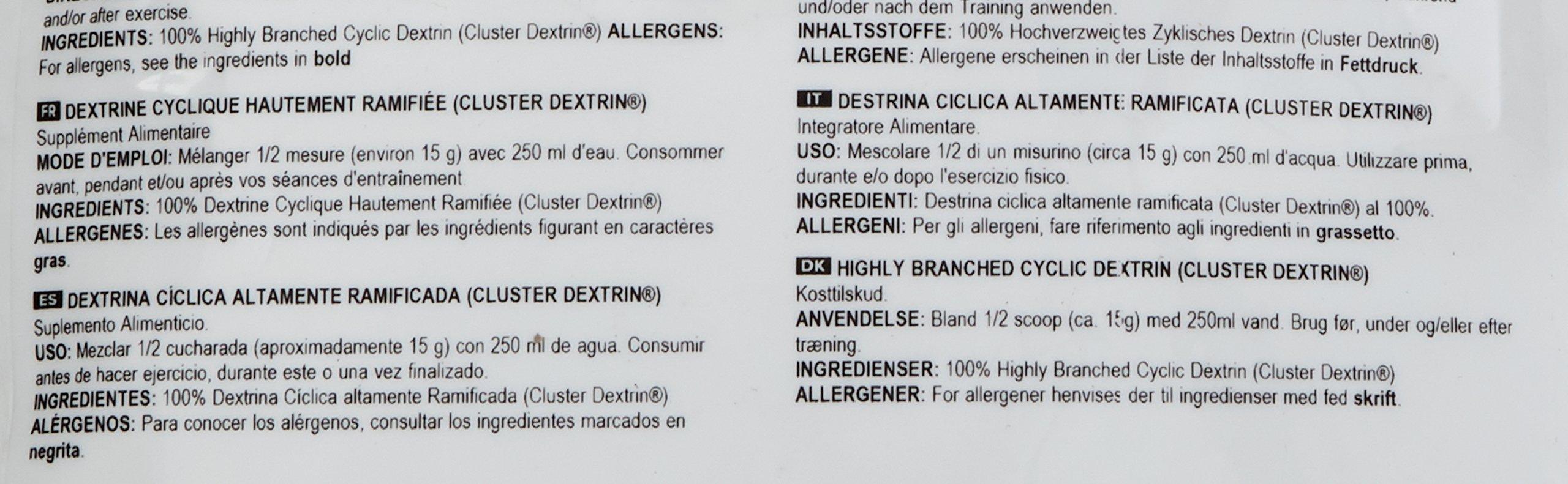81lbDUiYn L - Bulk Highly Branched Cyclic Dextrin Powder, 2.5 kg, Packaging May Vary