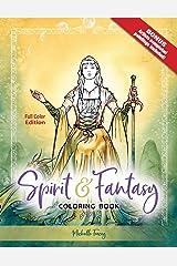 Spirit & Fantasy Coloring Book: Full Color Edition Taschenbuch