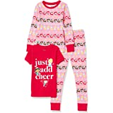 Spotted Zebra Girl's Disney Star Wars Marvel Frozen Princess Snug-fit Cotton Pyjamas Sleepwear Sets