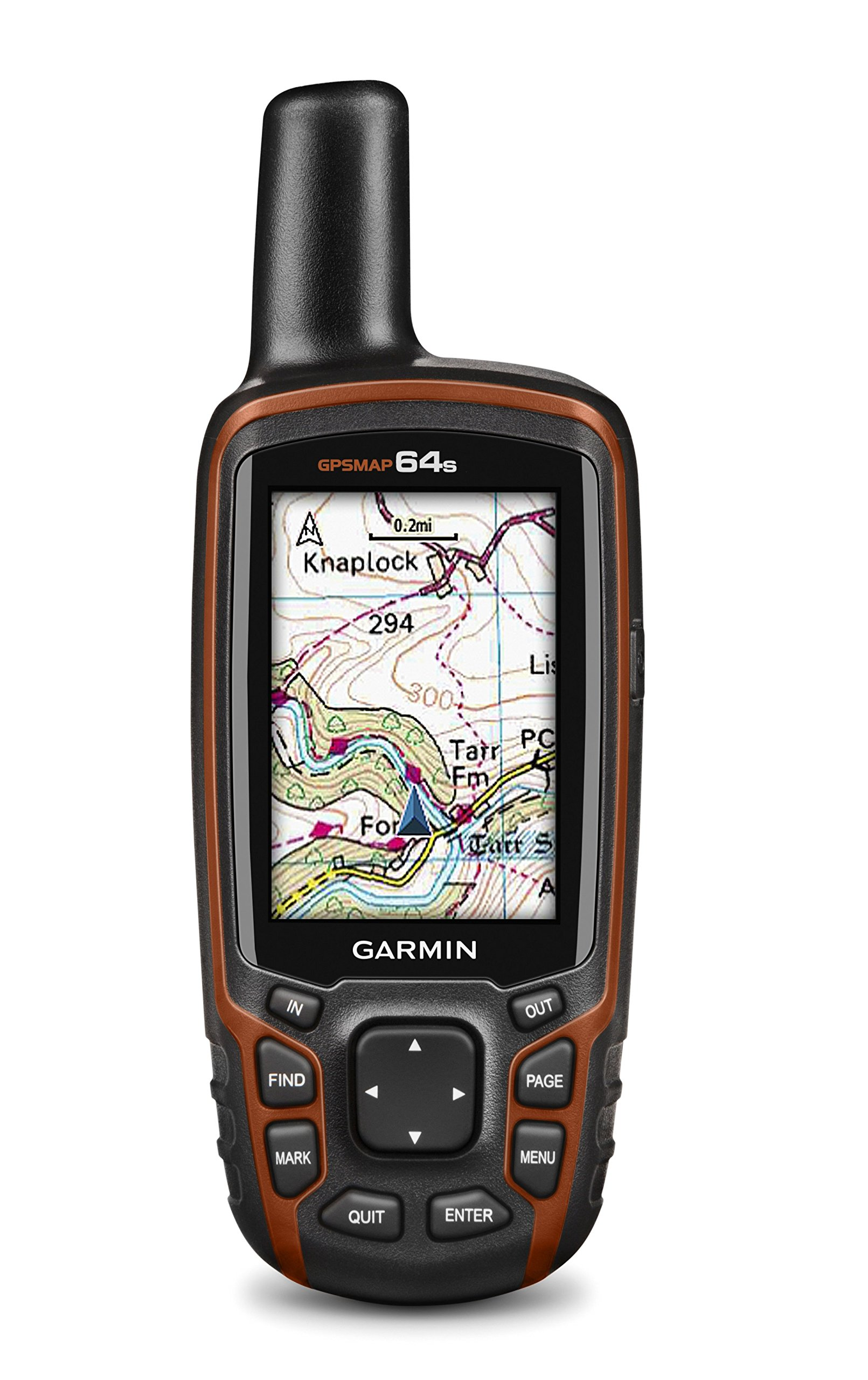 Garmin GPSMAP 64s Handheld Navigator,Black/Red 6