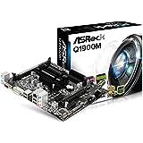 Asrock Q1900M Scheda Madre, DDR3 RAM, Nero