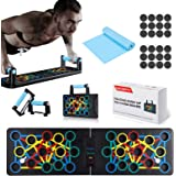 Jeteven Push Up Board, Push Up Rack Board Pieghevole e Multifunzione Attrezzature per Fitness per Allenamento Muscolare, per