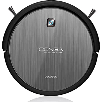 Cecotec CongaExcellence990 Robot aspirateur et nettoyeur silencieux et puissant doté de 5modes de nettoyage/d'un filtre HEPA Programmable 24heures
