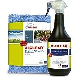 ALCLEAR 71100SV laksnelverzegeling, 1 liter, incl. microvezel autopoetsdoek voor auto-onderhoud, motorfiets, fiets