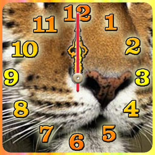 Tiger Roar Alarmm Clock and Flashlight
