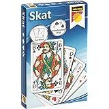 Idena 6250100, Gioco di Skat con Mano Francese, 32 Carte, il Gioco di Carte Popolare dei Tedeschi, per Competizioni o Serate