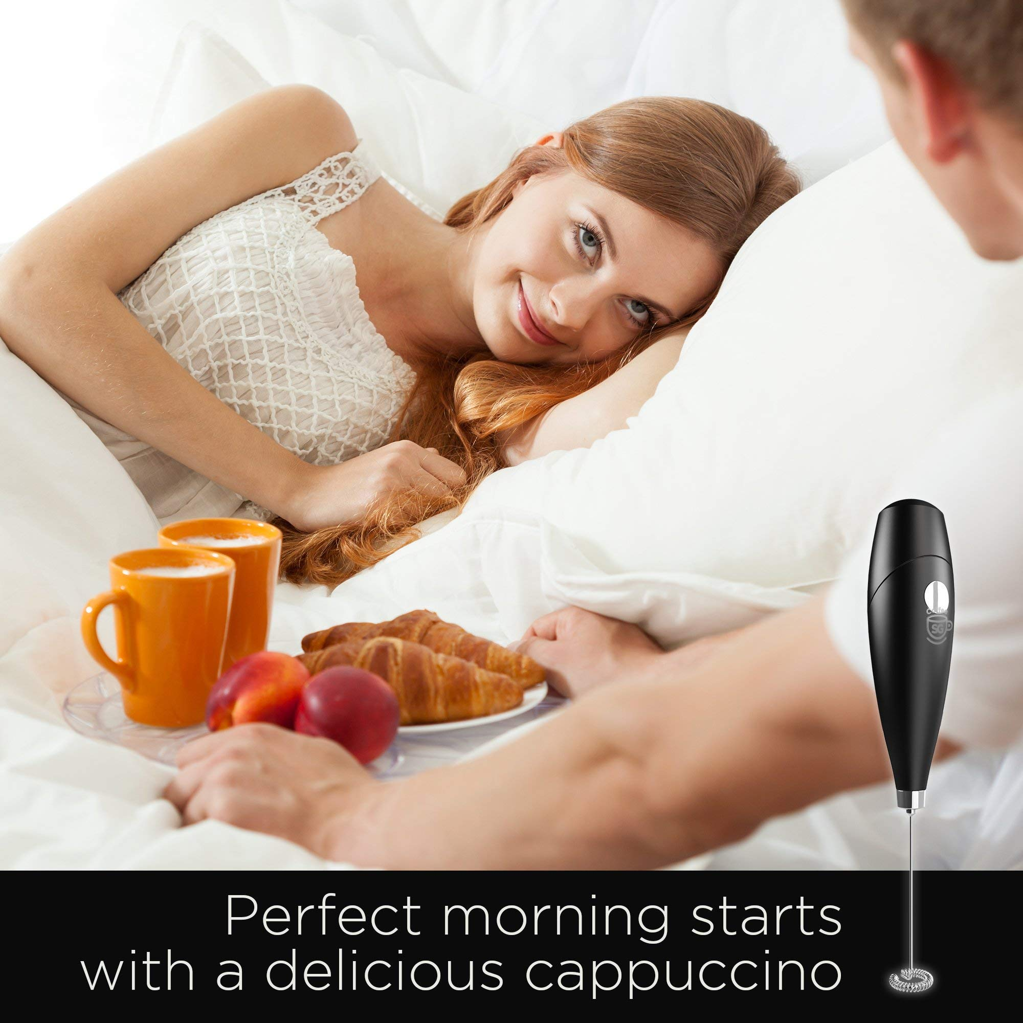 Milk-Frother-Coffee-Frother-Electric-Whisk-Powerful-Latte-Cappuccino-Frother-Wand-Hot-Milk-Foam-Maker-Best-Soya-Milk-Mixer-Free-eBook-Extra-Whisk-Worth-397