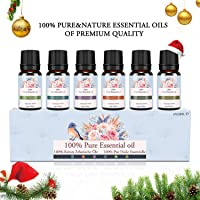 SIMAN Huiles essentielles, Huiles parfumées pour Diffuseur et Aromathérapie, Huile Aroma Naturelle 100% Pure