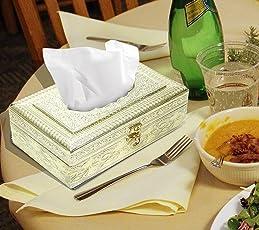 Nisun Handmade Wooden Eco-Friendly Tissue Holder Box/Napkin Holder Box/Tissue Cover Holder