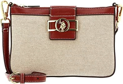 U.S. POLO ASSN. Lockhart Crossbody Bag Natural/Brown