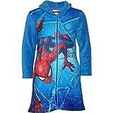 Marvel Albornoz de forro polar para niños HS2055 Spiderman Coral