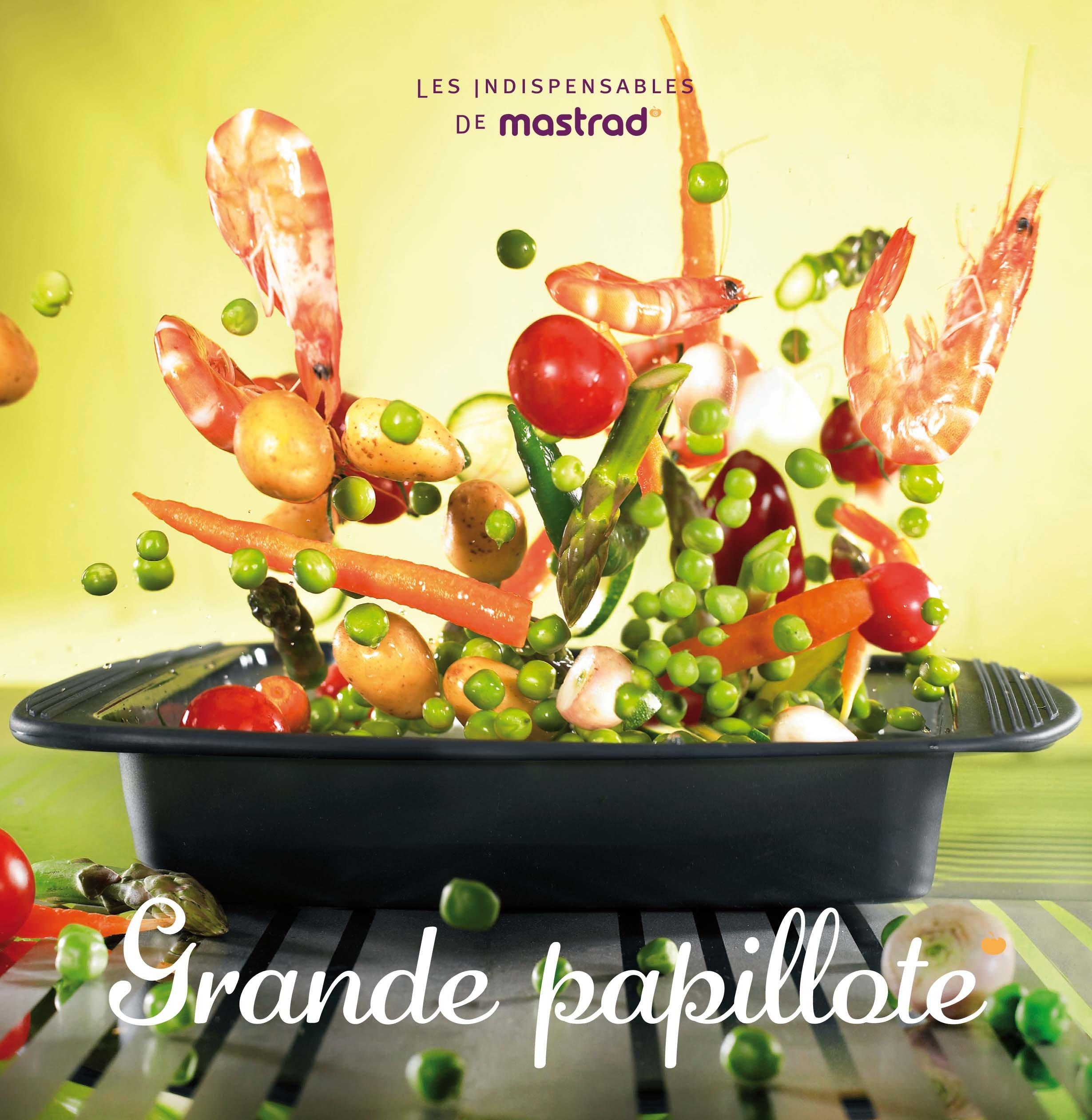Mastrad Les Indispensables F46268 - Libro di ricette di piatti al cartoccio, in lingua francese