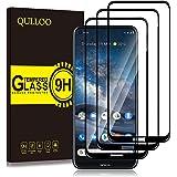 QULLOO compatibel met Nokia 8.3 5G gehard glas Screen Protector, 9H hardheid HD Clear Screen Protector Film voor Nokia 8.3 5G