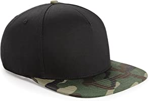 Beechfield Camouflage Retro Baseball-Kappe mit Tarnmuster