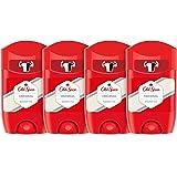 PACK X4 Old Spice Original Desodorante en Barra para Hombres, 50 ml