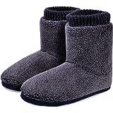 MIXIN Boots Slippers Womens Indoor Outdoor Slipper Booties Ladies