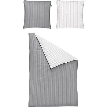 Irisette Mako Satin Bettwasche 2 Teilig Bettbezug 155 X 220 Cm