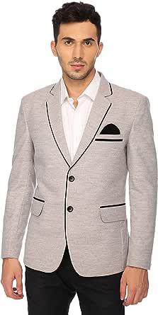 LUXURAZI The in Vogue Grey Tweed Blazer