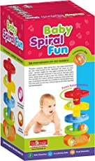 Toymate Baby Spiral Fun-an Infant Gift for Toddlers-Rolling and Stacking Ball Fun Game for Age 9 Month +