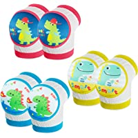 WolinTek Ginocchiere Baby, Ginocchiere per Gattonare Bimbi per Protezione Ginocchio Antiscivolo Gattonare per Bambino,3…