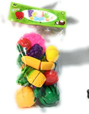 Stuff Jam Realistic Sliceable Fruits Cutting Play Toy Set with