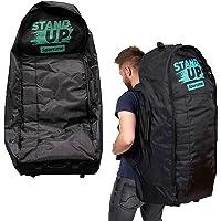 Sportime SUP Tasche   Rucksack für iSUP Boards bis 12'6″ mit Zubehör   Verstellbare Tragegurte mit Rückenpolsterung…