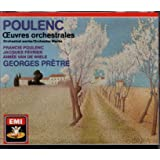 Poulenc : Oeuvres orchestrales [Import anglais]